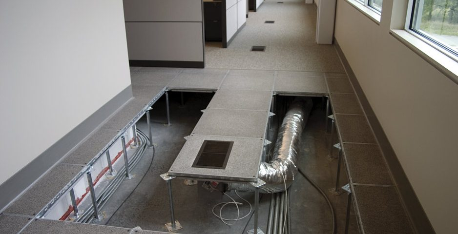 Displacement Ventilation Underfloor Air Distribution As